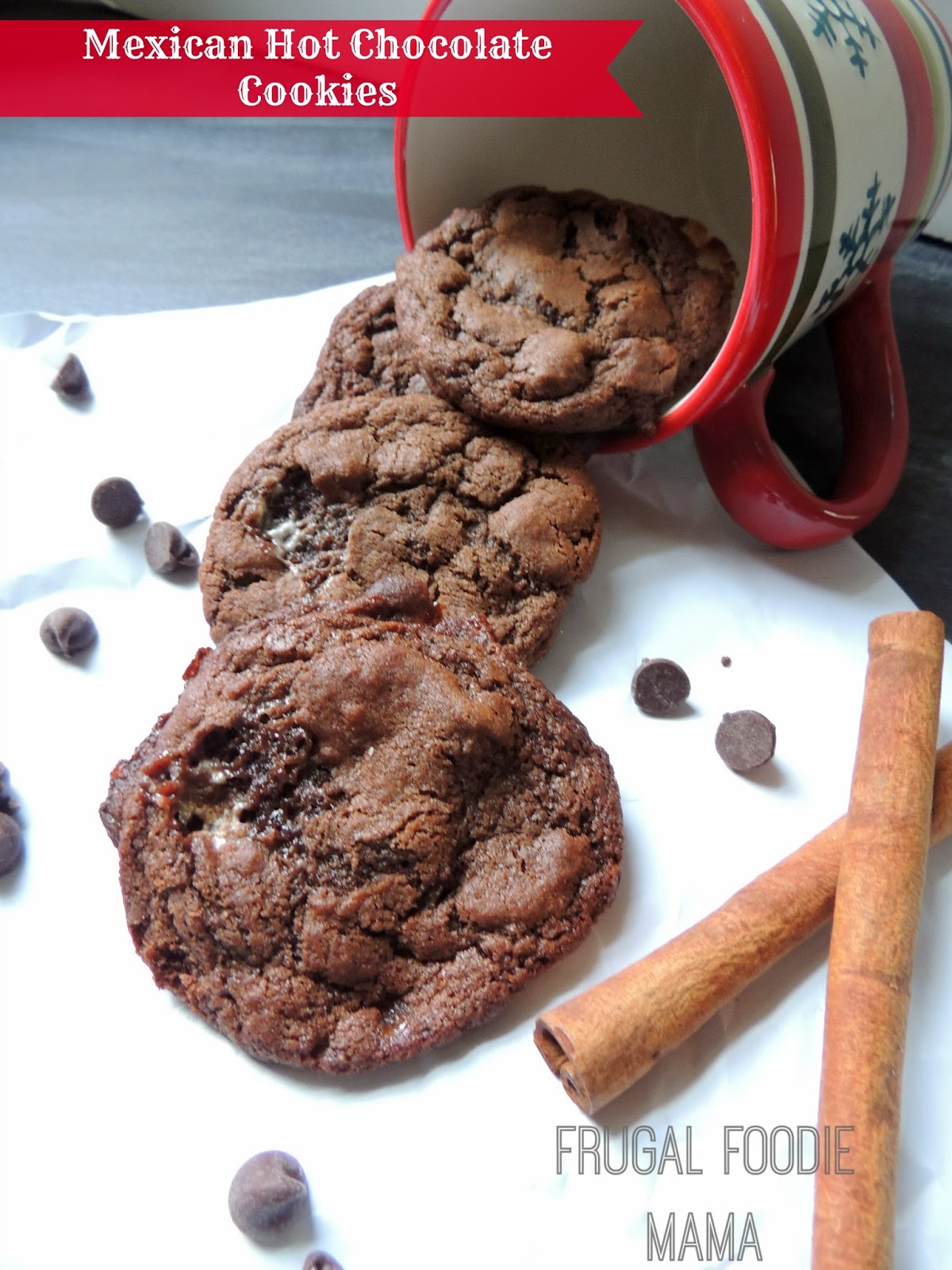 Mexican Hot Chocolate Cookies Pin It