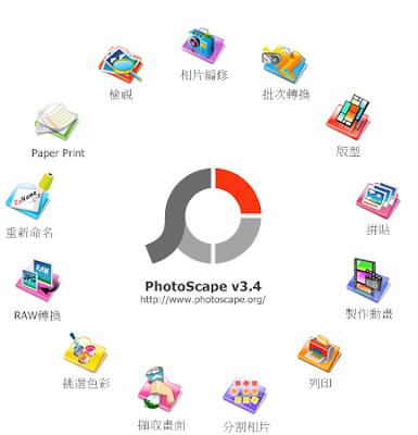 Photoscape中文版下載 功能強大的修圖拼圖軟體