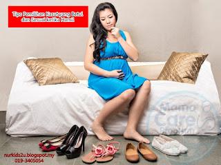 tips pilih kasut yang sesuai ketika mengandung