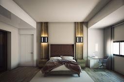 62+ Desain Kamar Tidur Mewah dan Modern Dominana Black and White