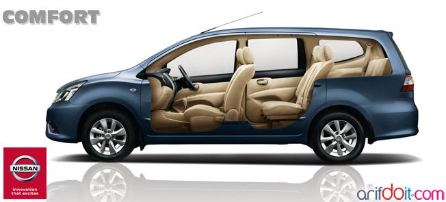 Nissan Grand Livina Memiliki kenyamanan tiada tara