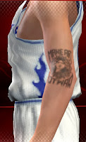 NBA 2K13 Arm Tattoos Mod Patch Make Art not War