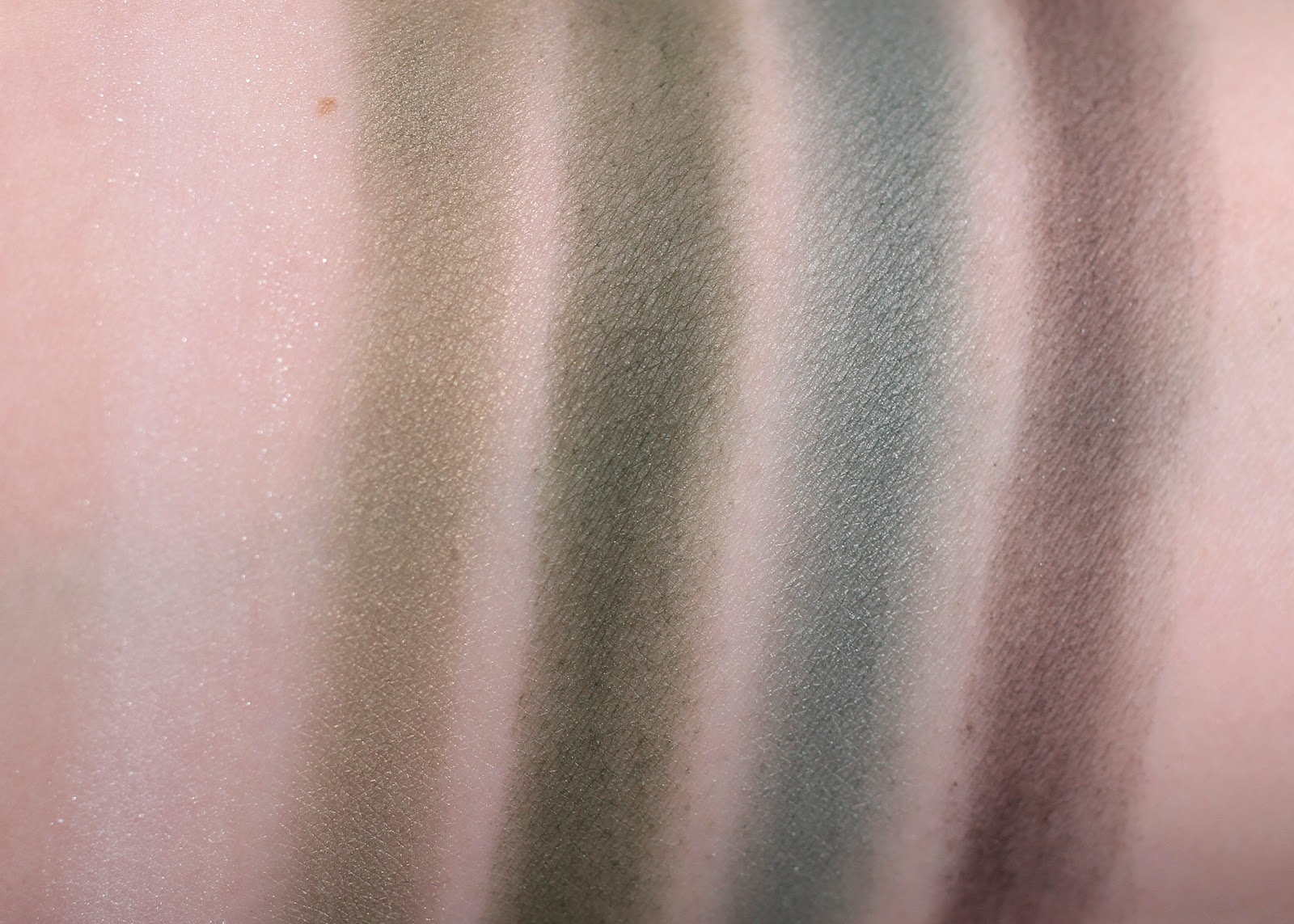Khaki Operation bottom row swatches