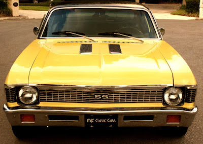 1972 Chevrolet Nova SS Sports Coupe Front