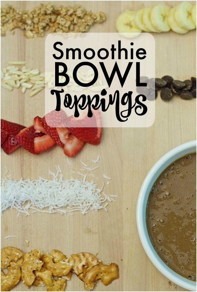 Favorite Smoothie Bowl Toppings