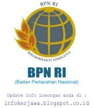 Lowongan Kerja BPN (Badan Pertanahan Nasional)