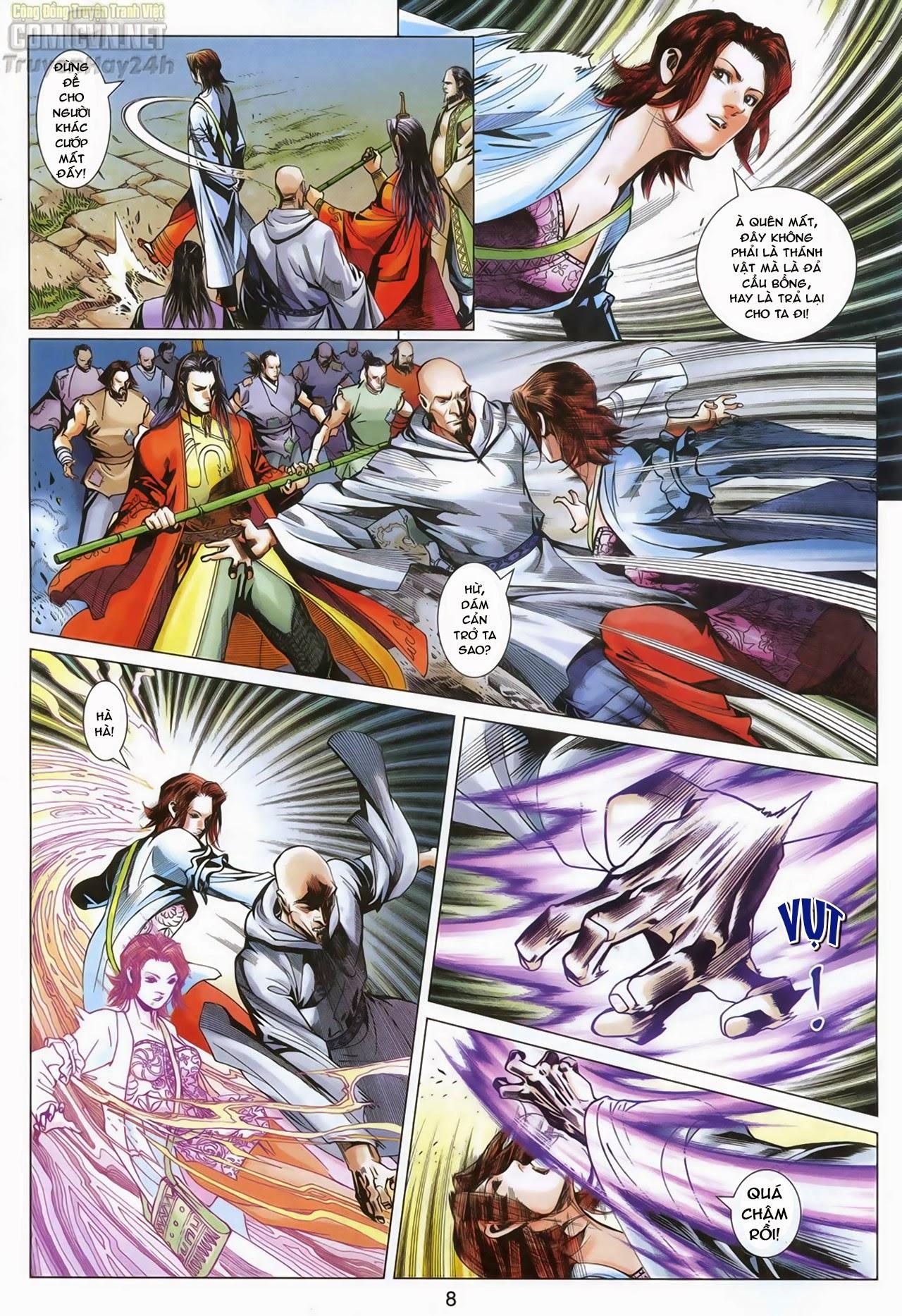 Anh Hùng Xạ Điêu anh hùng xạ đêu chap 68: di thư chân kinh - lừa tình trang 9