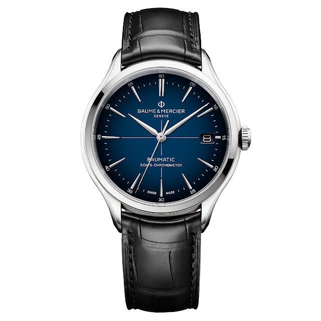 Baume et Mercier Clifton Baumatic Blue Dial