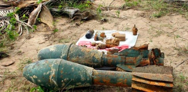 முல்லைத்தீவு சுதந்திரபுரம் பகுதியில் வெடி பொருட்கள் மீட்பு!