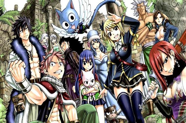 Daftar anime yang sejenis dengan Fairy Tail