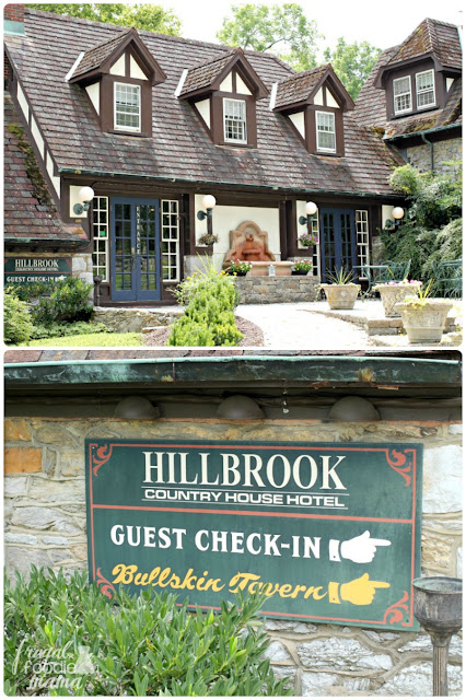 The Main House at Hillbrook Inn & Spa was once a private home built by General Frank E. Bamford and was fashioned after an inn that he stayed at in Normandy during World War I.