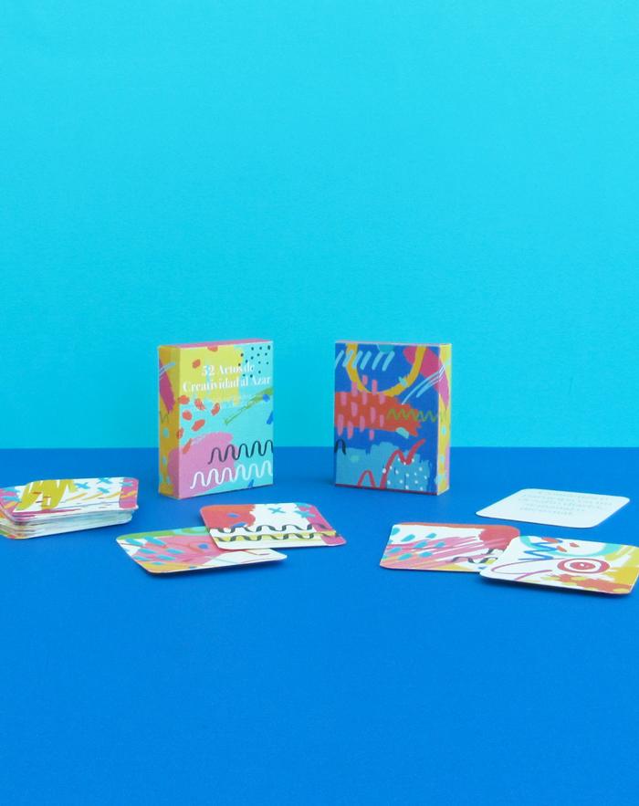 Cartas imprimibles gratuitas con ejercicios creativos, manualidades, imaginación, curiosidad, generación de ideas
