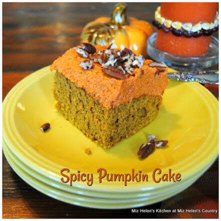 Spicy Pumpkin Cake