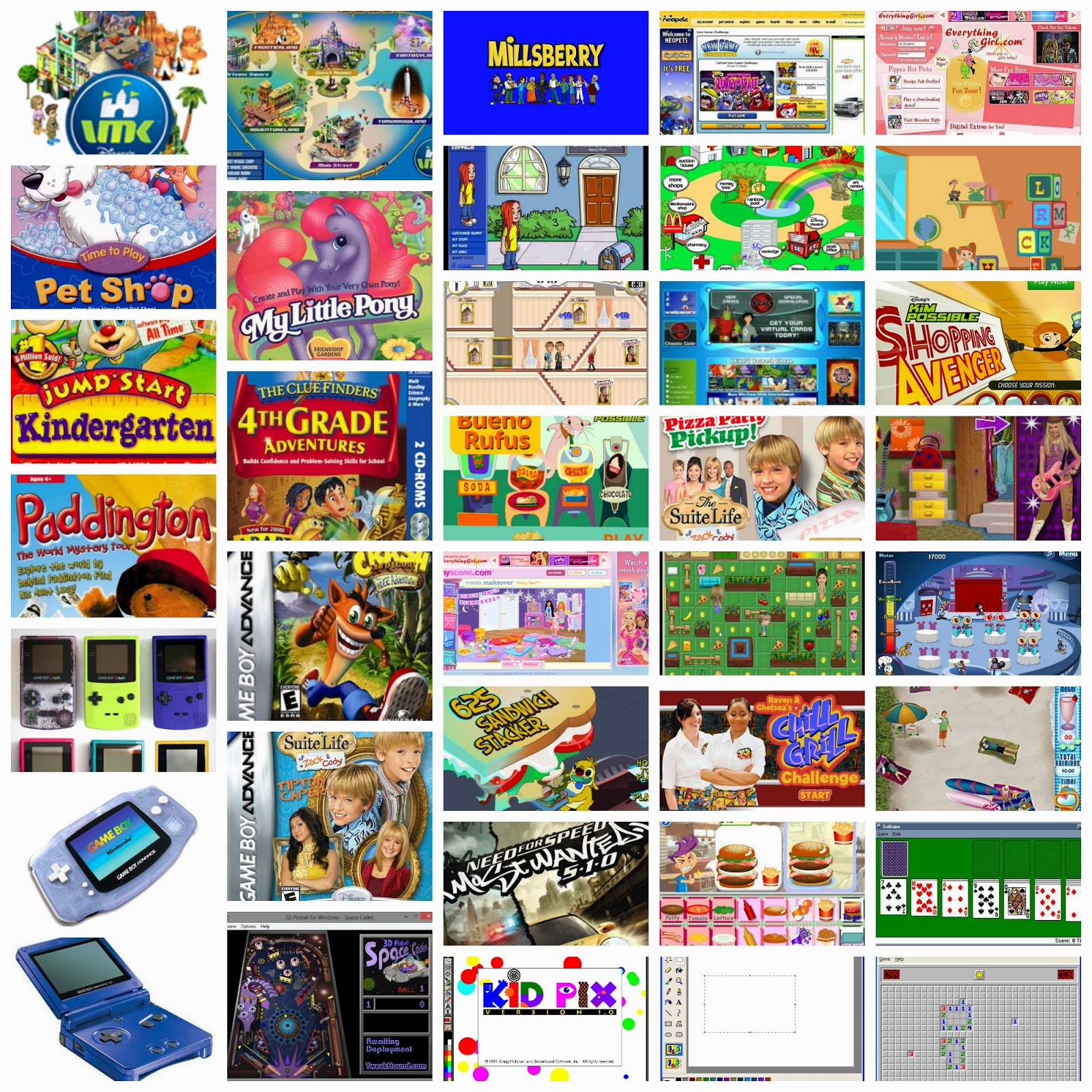 Educational Computer Games From The Early 2000s Airplane