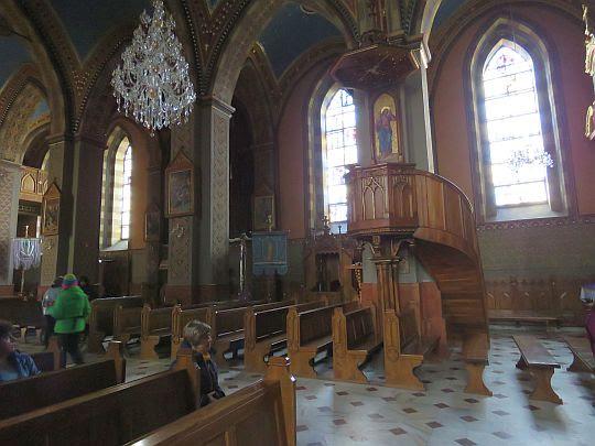 Wnętrze bazyliki.
