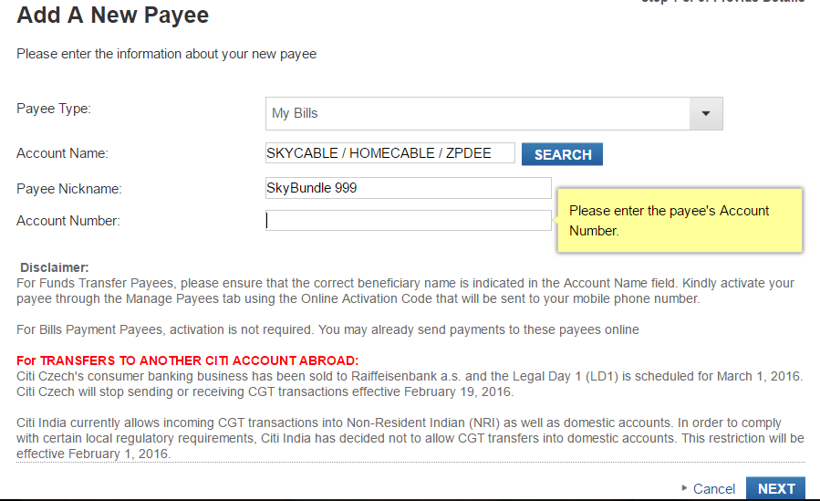 How To Pay Skycable Skybroadband Skybundle Using Your Credit Card My How To Diary