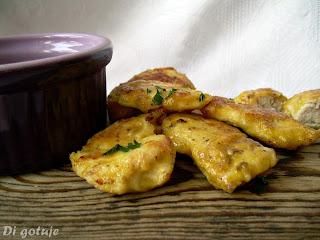 Musztardowe kąski/nuggetsy z kurczaka