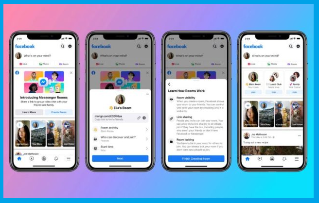 ما هي خاصية Facebook Rooms و كيف تعمل ؟