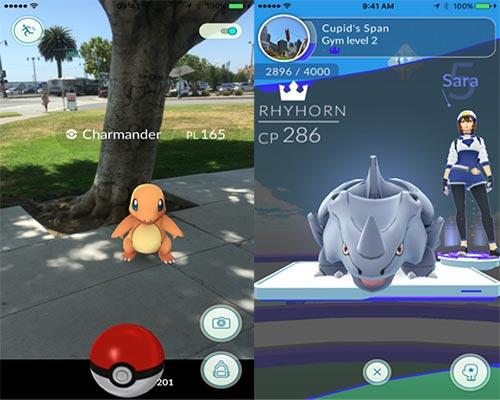لعبة بوكيمون جو Pokémon GO
