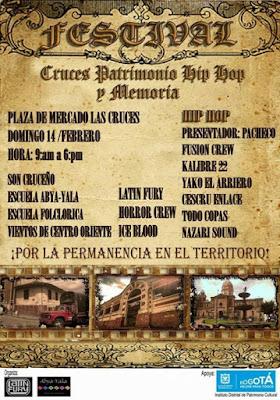 Festival Cruces, patrimonio Hip Hop y memoria 2016
