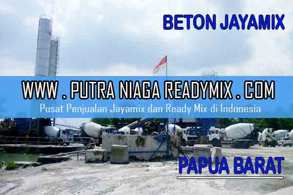 Harga Beton Jayamix Papua Barat