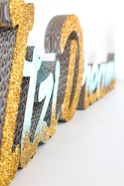 DIY Personalizar tu nombre, DIY para Bloggers, ideas para bloggers, Nombres decorativos,