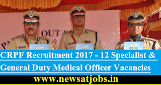 CRPF-Recruitment-12-Specialist-General-MO