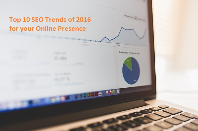 Top 10 SEO Trends of 2016 for your online presence