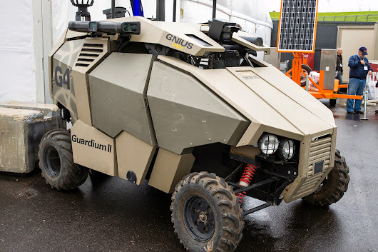 Guardium: Unmanned Ground Vehicle