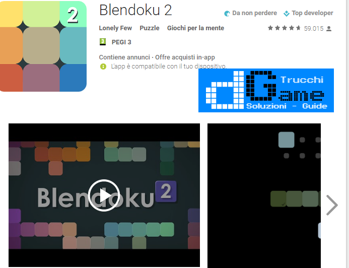 Soluzioni Blendoku 2 Hard  livello 61-62-63-64-65-66-67-68-69-70 | Trucchi e Walkthrough level