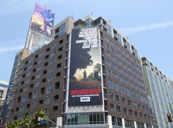 Walking Dead 2016 Emmy FYC billboard