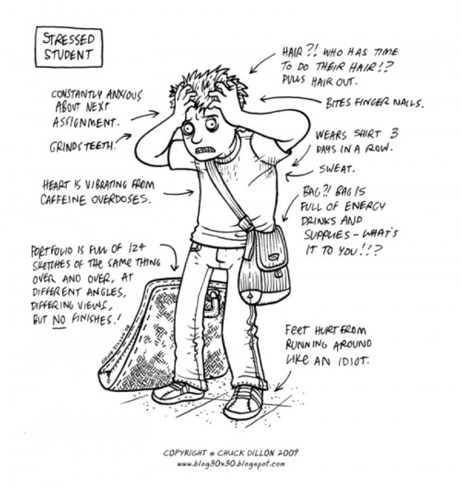 The effects of stress on freshman college students