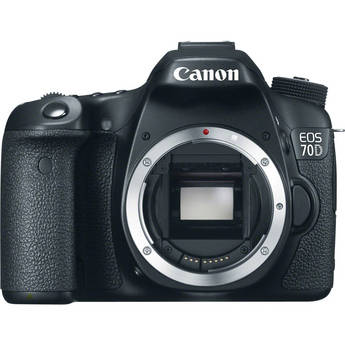Canon EOS 70D Front View