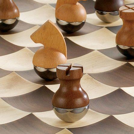 lüks satranç takımı