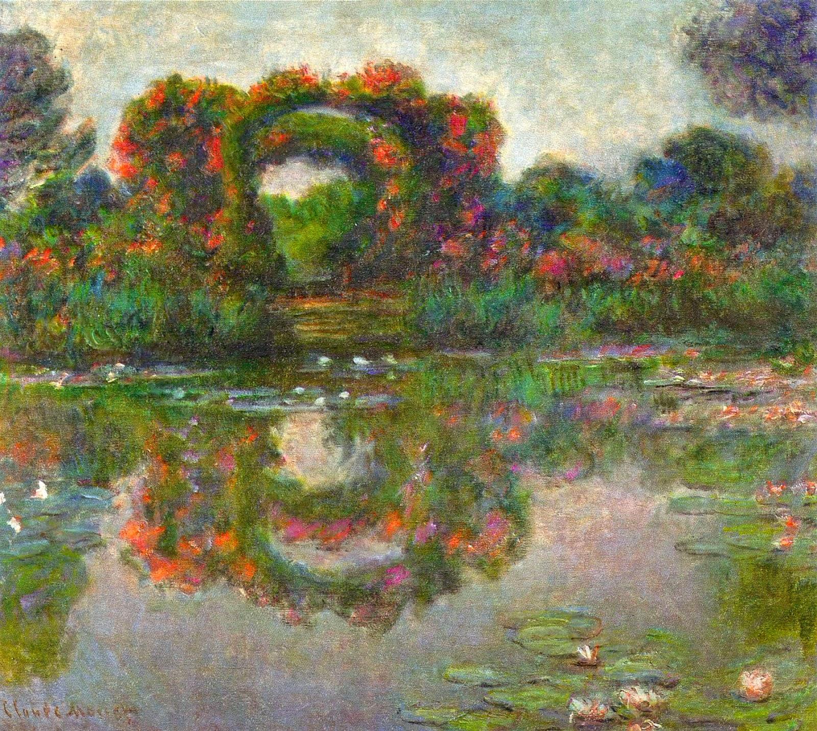 Toile art Champ de Coquelicots à Argenteuil Claude Monet