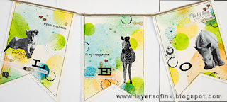Layers of ink - Misted Animal Banner