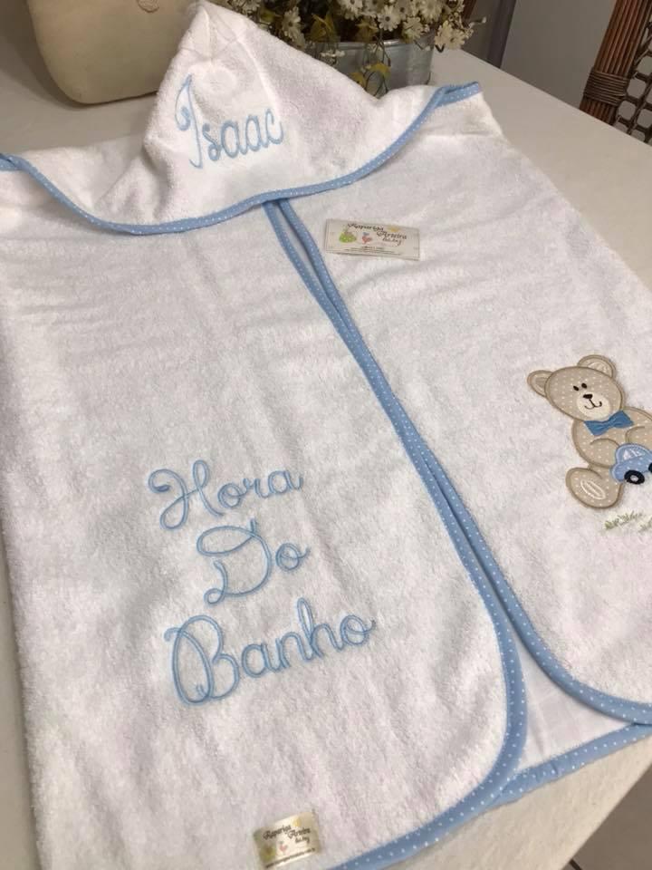 Rapariga Arteira Baby  enxoval bebê personalizado 253fbb3b079