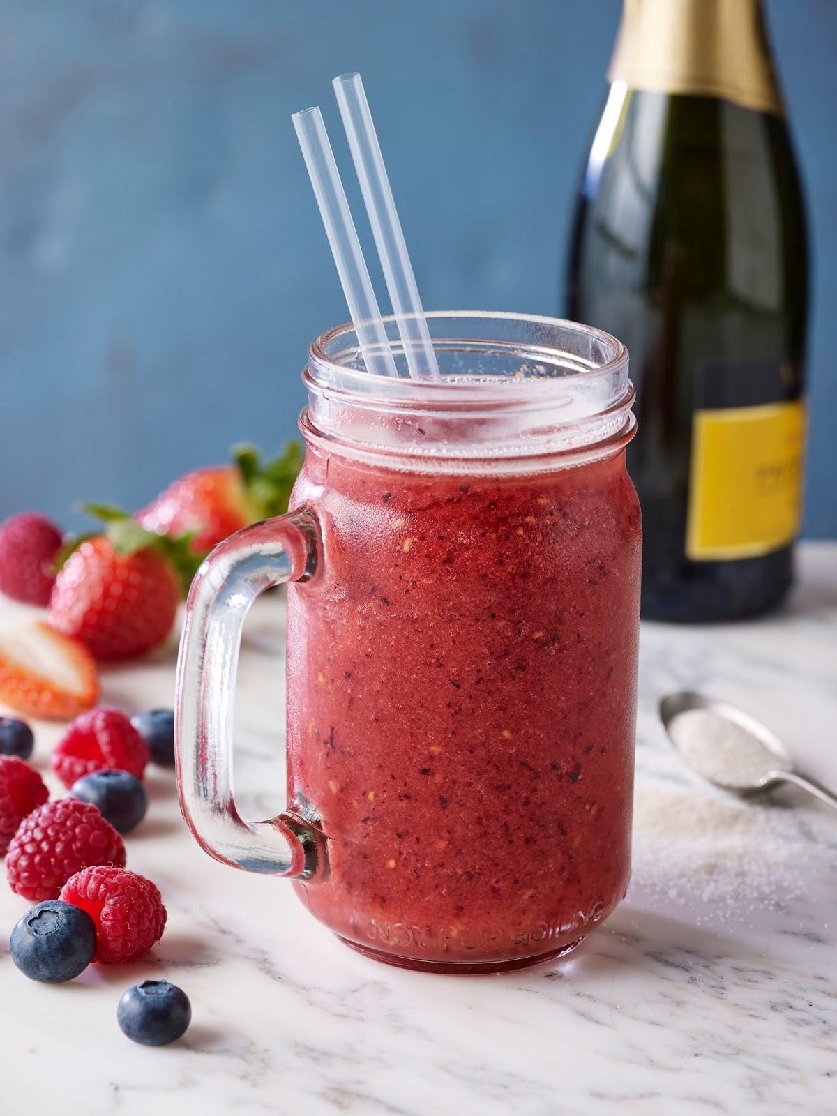 How To Make A Summer Pudding Prosecco Slush
