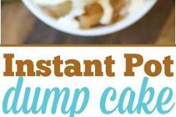 Recipe - 3 Ingredient Easy Instant Pot Dump Cake