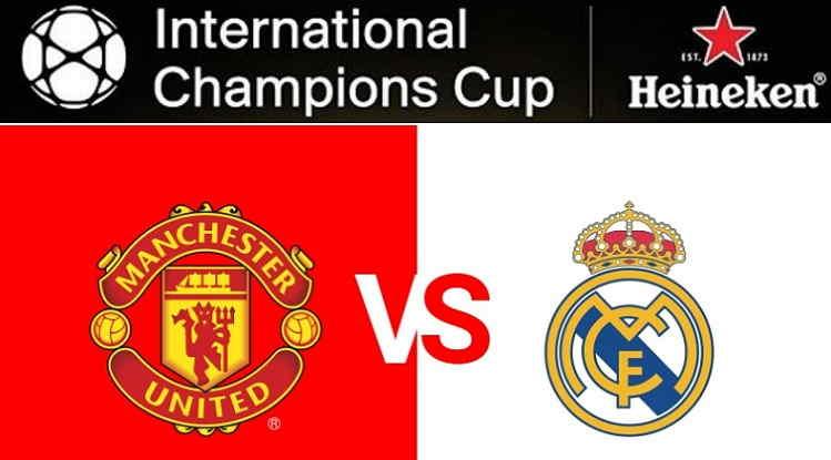Hasil dan Cuplikan Gol Manchester United vs Real Madrid Skor Akhir 2-1 [ICC 2018]