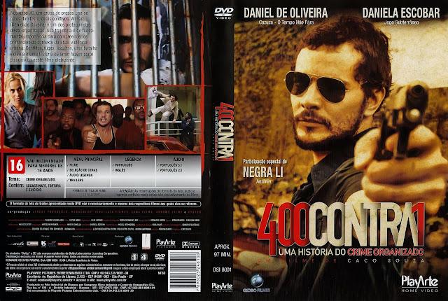 Capa DVD 400 CONTRA 1