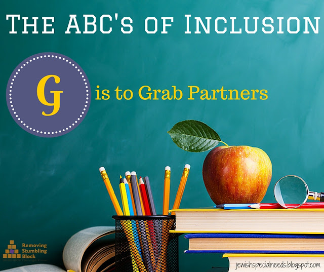 The ABC's of Incusion, G is to Grab Partners; Removing the Stumbling Block