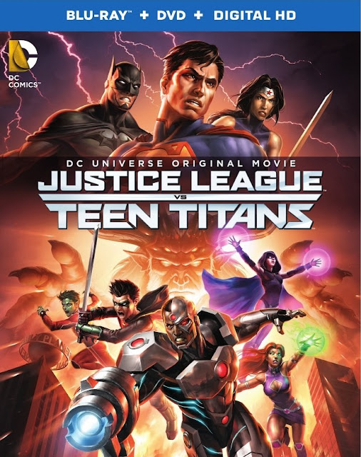 Download Justice League vs Teen Titans 2016 Web-DL Subtitle Indoensia