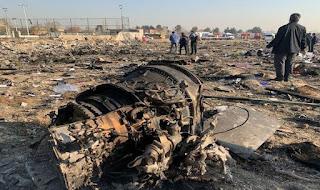 Kecelakaan Ukraina Airlines di Iran