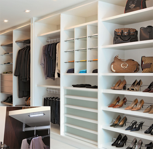 C mo hacer un closet for Walking closet modernos pequenos