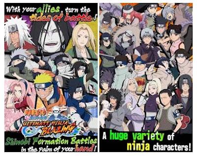 Naruto Ultimate Ninja Blazing v1.1.2 MOD Apk