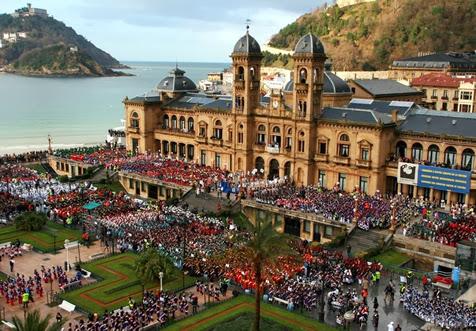 El día de la Tamborrada en San Sebastián