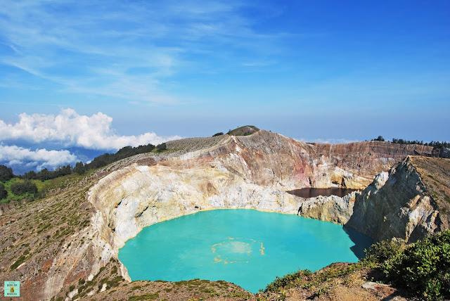 Volcán Kelimutu en Flores, Indonesia