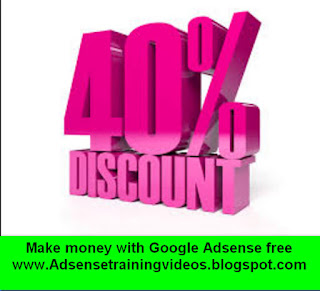5 Person ko diya jaayega mere Money Making Adsense Hindi Training DVD per 40% ka discount.Last date for discount 16 may 2016