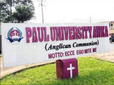 Paul University Admission Screening, Eligibility And Registration Details (UTME/DE)